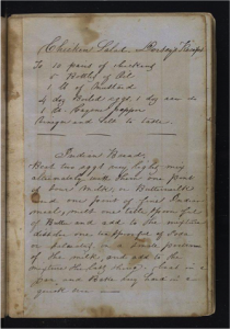 Recipe Page from Keen